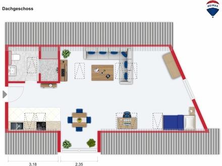 Wohnung Nr. 3 (Mansarde)