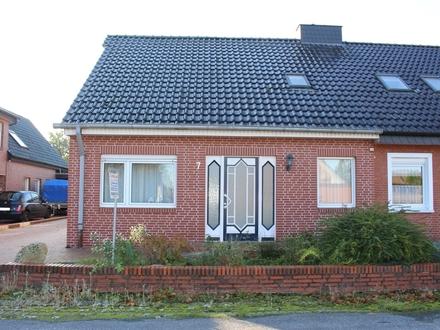 - RESERVIERT - Wohnen in Haren - Rütenbrock ! Großzügige Doppelhaushälfte mit vielen Möglichkeiten !