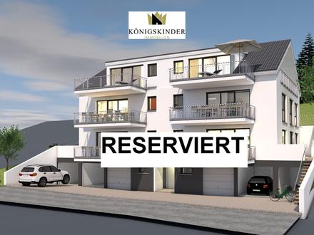 PROVISIONSFREI! Neubauprojekt: Erdgeschosswohnung mit Balkon, Garten und Tiefgarage in Südhanglage!