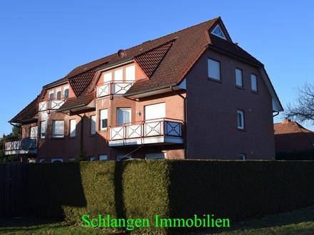 Objekt Nr: 00/682 Oberwohnung mit Balkon und Stellplatz in Barßel/ OT Neuland
