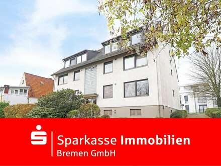 In exklusiver Lage von Bremen-Lesum - Eigentumswohnung mit eigener Garage