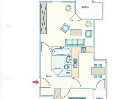 2 Zimmerwohnung in Kolbermoor