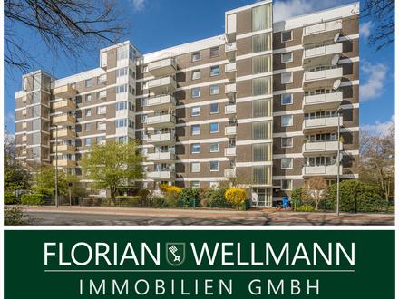 Bremen - Kattenturm | Geräumige, gut gepflegte 4-Zimmer-Etagenwohnung mit zwei Balkonen und tollem Blick in die Umgebung