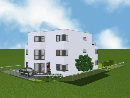 5-Zimmer-Wohnung über 2 Etagen mit traumhafter Dachterrasse in einem Zweifamilienhaus / Erstbezug