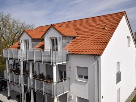 WOHNGEMEINSCHAFT ERWÜNSCHT! Exklusive 4-Zimmer-Neubau-Wohnung mit toller Ausstattung in KfW-70 Bauweise