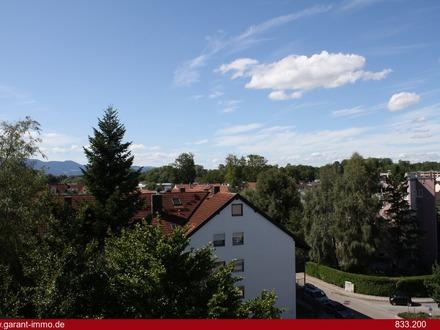 NEU SANIERT! Sonnige 3 Zimmer-Wohnung mit großem Südbalkon in zentrumsnaher Lage von Rosenheim