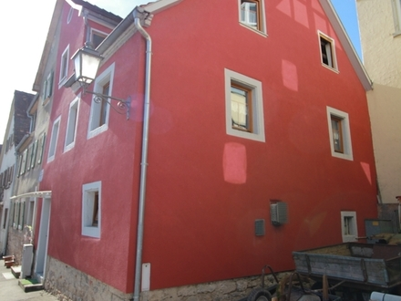 Gemütliches Stadthaus/Doppelhaushälfte in Creglingen zu verkaufen