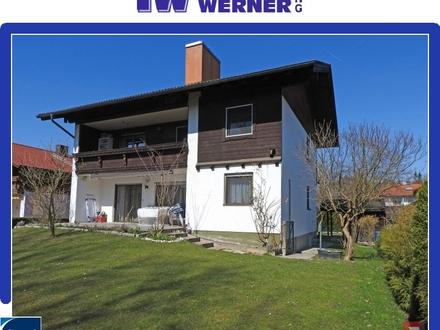 ***Zweifamilienhaus in Kolbermoor mit Wohnreserven in Dachgeschoss und Souterrain***