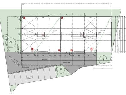 Neubau einer Halle/Lager/Produktion in Flintsbach zu vermieten!