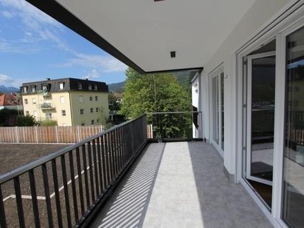 Neubau Erstbezug: Moderne und luxuriös ausgestattete Wohnung mit großem Balkon!