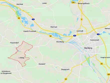 2 9. 0 0 0,- für 4 8 4 qm erschlossenen BAUGRUND nur 15 km neben Bamberg in LISBERG