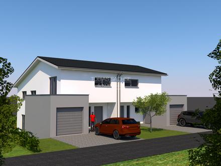 NEUBAU im Sieberdinger Feld - Moderne Doppelhaushälfte in toller Lage - KfW-55-Standard