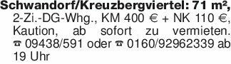 Schwandorf/Kreuzbergviertel: 7...