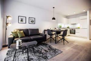 Möblierte Wohnung in Stuttgart-West