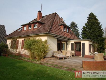 Herrliches Wohnen auf einem 800 m² großen Traumgrundstück in Rastede (Obj.-Nr. 5720)