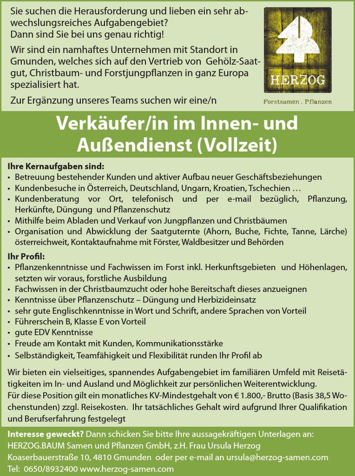 Ihre Kernaufgaben sind: • Betreuung bestehender Kunden und aktiver Aufbau neuer Geschäftsbeziehungen • Kundenbesuche in Österreich, Deutschland, Ungarn, Kroatien, Tschechien … • Kundenberatung vor Ort