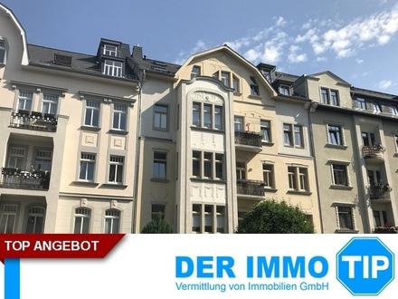 Große 2 Zimmerwohnung auf dem Kaßberg mit Balkon