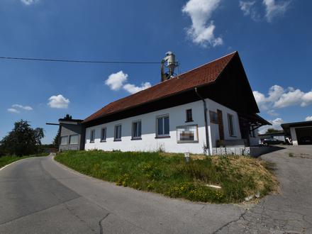 Gewerbeflächen / Schreinerei in Neukirch - Halle mit Büroteil zu vermieten