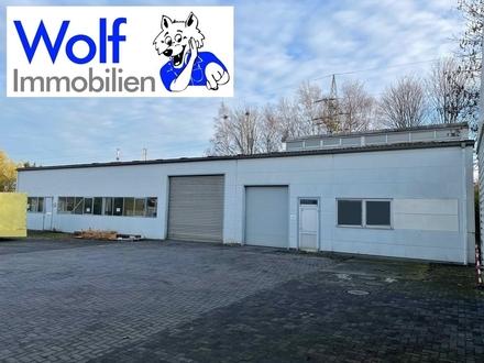 ~~Gewerbe- Lager - Produktionshalle inklusive einem Zweifamilienhaus im Industriegebiet !~~