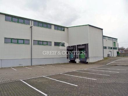 Multifunktionale Halle mit großzügiger Freifläche
