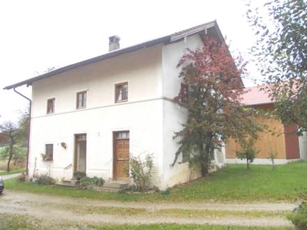 """*Wohnen im """"Zuhäusl"""" neben dem Bauernhof......, Weilerlage, in der Nähe von Simssee/Bad Endorf*"""