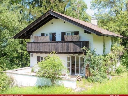 ***Einzigartiges Architektenhaus in Bestlage von Bad Reichenhall mit Rundum-Bergblick!***