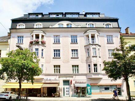 Klagenfurt - Bahnhofstraße: Stilvolle Büroräumlichkeiten vis-á-vis der Wirtschaftskammer