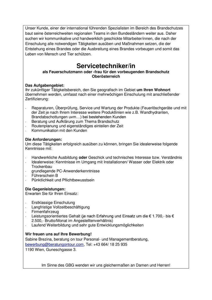 Servicetechniker, Brandschutz, Feuerschutz, Feuerlöscher, Techniker/in, Techniker,
