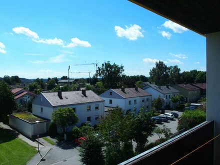 Ausblick vom Balkon (unverbaubar)