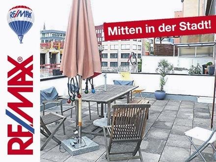 *Mitten drin* Im Stadtzentrum von Stuttgart