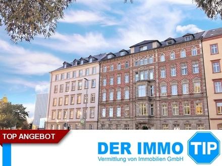2 Zimmerwohnung mit Balkon und Blick über Chemnitz im Zentrum zur Miete