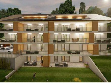 Neubau: 3-Zimmer-Wohnung mit großem Balkon!