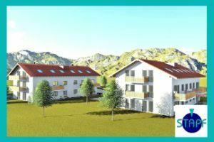 Stapf Immobilien - 3 Zi. Terrassenwohnung Neubau in Pfronten-Ried