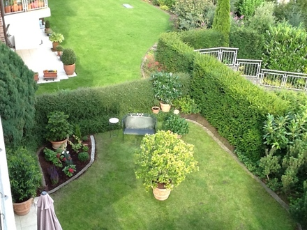 3-Zimmer-Wohnung mit Terrasse und Garten zur Eigennutzung