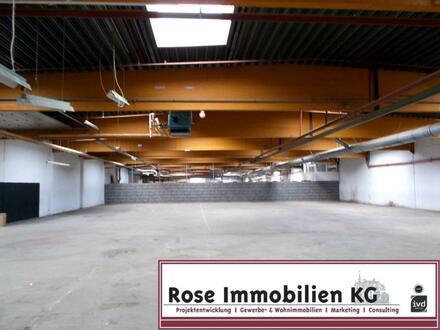 ROSE IMMOBILIEN KG: Kaltlagerhalle mit Rampe in Bad Oeynhausen!