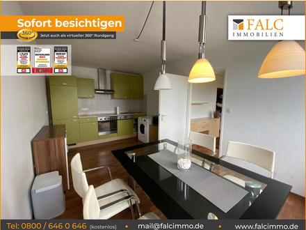 Schöne Wohnung mit Küche nahe Plärrer ab sofort frei - mit Sofortrundgang