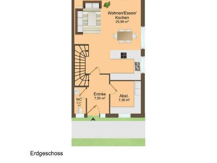 4-ZI-ETW, als Maisonette, Wohnung 1