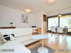 Geschmackvoll möblierte 4-Zimmer-Wohnung mit WLAN und 2 Balkonen in Nürnberg Maxfeld