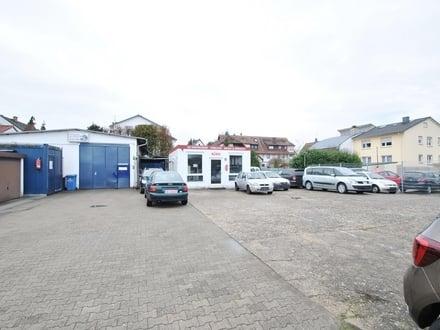 Langen: Voll ausgestattete Kfz-Werkstatt mit Platz für Autohandel