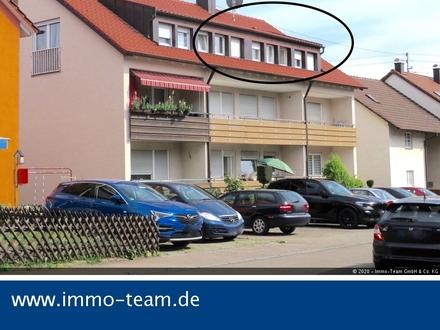 ++großzügige - sonnige - DG-Wohnung mit Stellplatz++