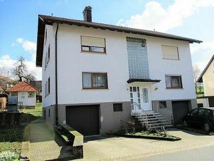 3-Fam.-Haus bei Mosbach - solide Mietrendite von ca. 4 Prozent