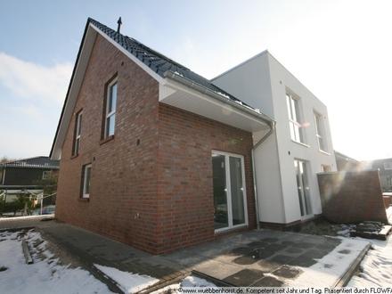Neue Doppelhaushälfte in rückwärtiger Lage in Osternburg