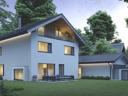 Neubau Einfamilienvilla auf wunderschönem Südgrundstück in Toplage