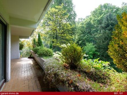 Vier Zimmer in Bestlage von Harlaching im Grünen nahe Isarhochufer