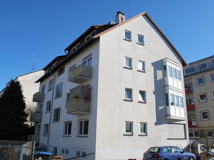 3-ZKB mit Balkon zu vermieten in Kaiserslautern in der Kanalstraße