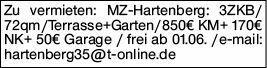 3-Zimmer Mietwohnung in Mainz (55122)