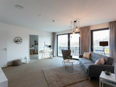Komfortable 3-Zimmer-Wohnung mit 2 Balkonen, Wannenbad und Gäste-WC