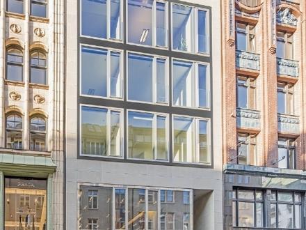 Exklusive Büroflächen teilweise mit Dachterrasse am Neuer Wall