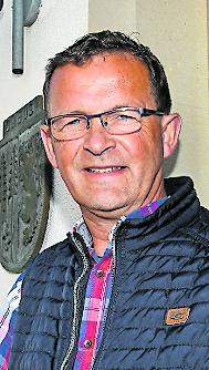 Ortsbürgermeister Peter Schmitt