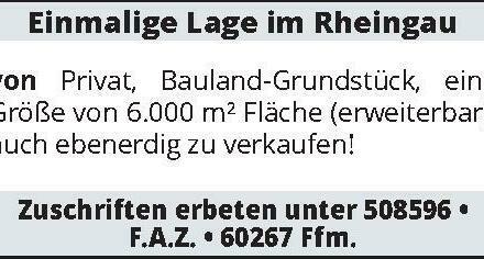 Einmalige Lage im Rheingau